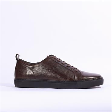 6th Sense DV2 Leather Trainer - Brown